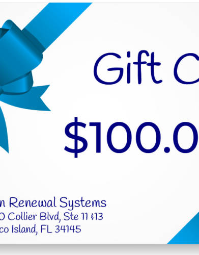 Skin Renewal Systems $100 Gift Card