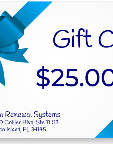Skin Renewal Systems $25 Gift Card