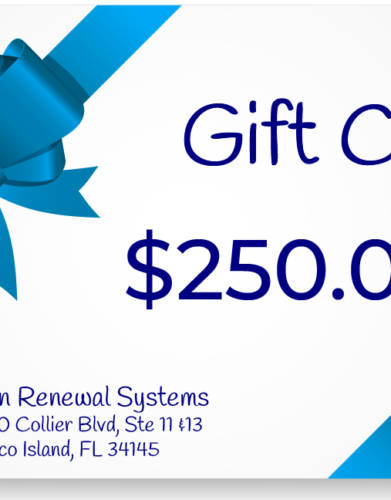 Skin Renewal Systems $250 Gift Certificate