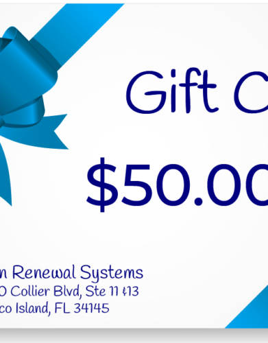 Skin Renewal Systems $50 Gift Card